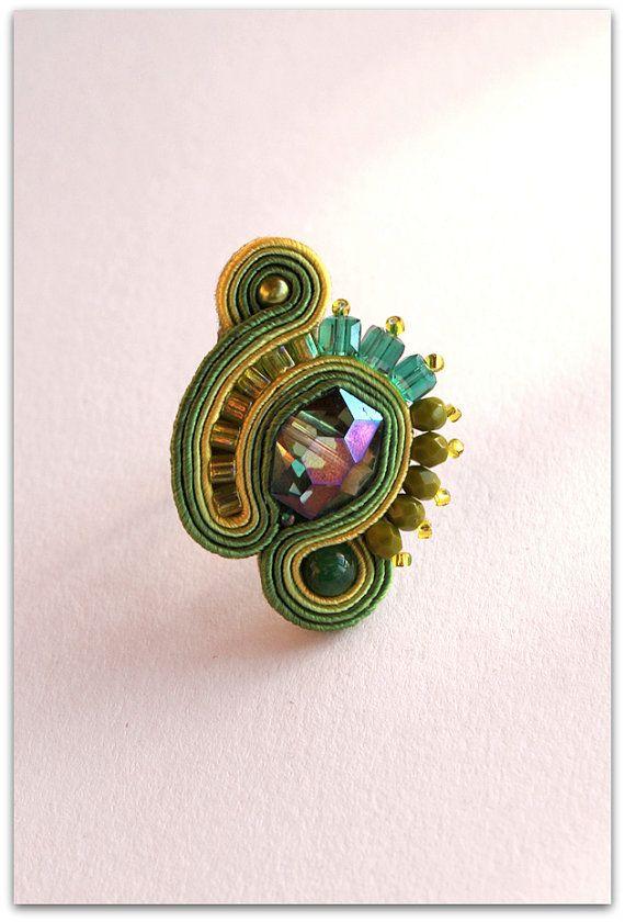 pierścionek / soutache ring