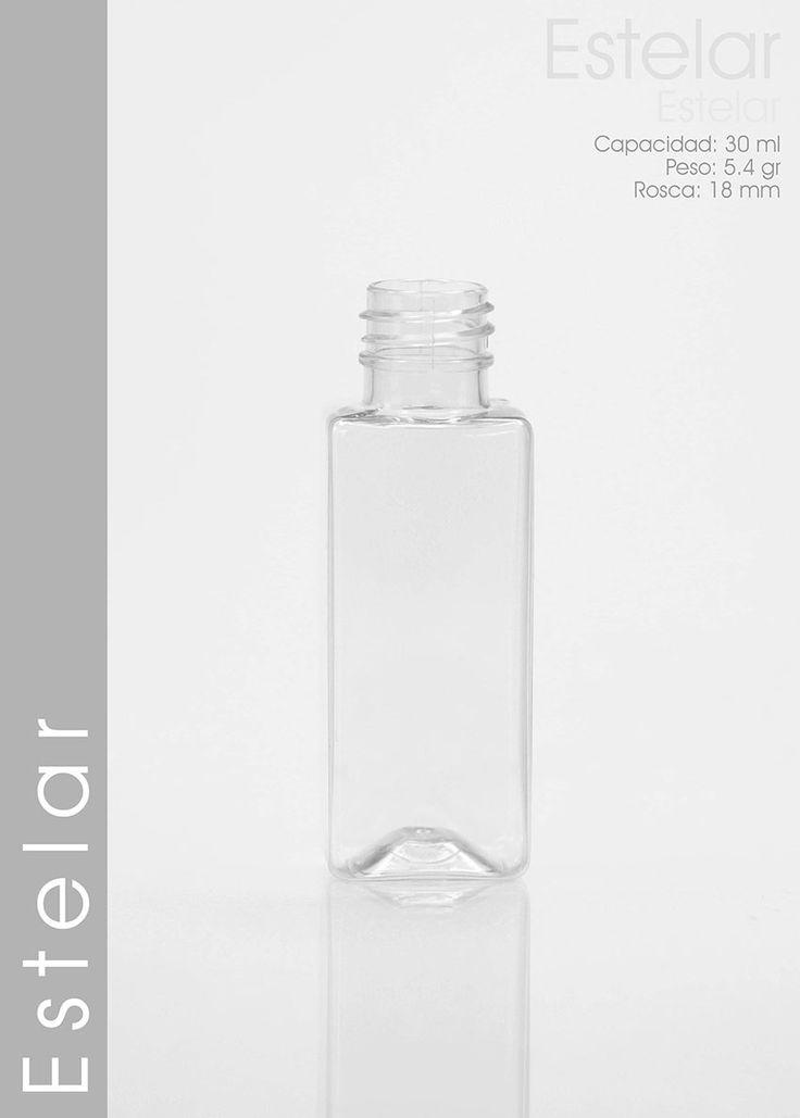 Envase Pet Estelar 30 ml