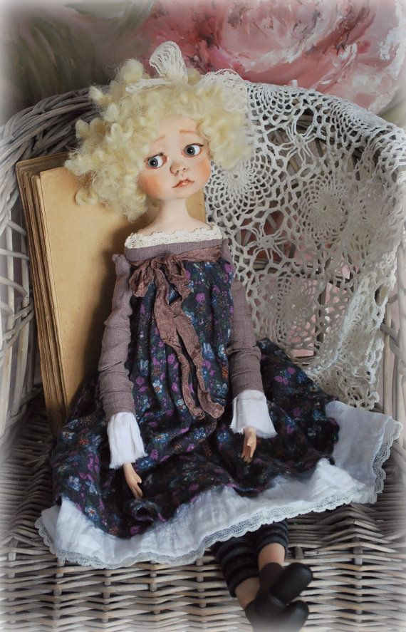OOAK Art Doll Collectible Doll by Natali Sekreta