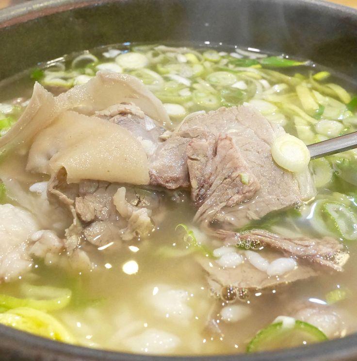 ソウルの冬は  あたたかスープで乗り切ろう!  スープ料理(タン)第二弾 #러브닷 #luvdat #ソウル #カルビタン #コムタン #コリコムタン #トガニタン #参鶏湯 #ソルロンタン #タン