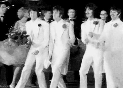 dance Beatles, dance! (animated gif)