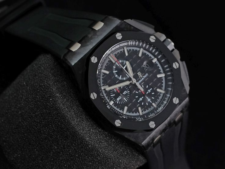 Audemars Piguet RoyalOakOffshore 44mm Novelty Carbon 'H'  Ref. No. 26400AU.OO.A002CA.01 Movement Automatic Case Material Carbon Case Diameter 44 mm Bracelet Material Rubber Clasp Fold clasp Function: Chronograph, Date, Small Seconds   Serial 'H' Condition 95% (Fullset Box Manual Paper)  WE ARE BASED AT JAKARTA please contact us for any inquiry : whatsapp : +6285723925777 blackberry pin : 2bf5e6b9 #AUDEMARSPIGUET #HOROLOGIE #WATCHFORSALE #FORSALE #LUXURY #LUXURYWATCH #BILLION #MILLION