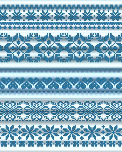 fair isle pattern 3 by gin!?, via Flickr