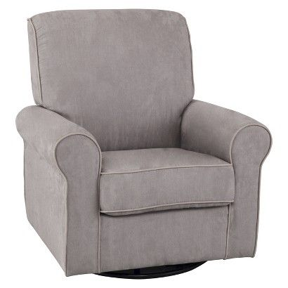 Love the look of this for the Nursery and Walker's room. Simmons Kids Augusta Upholstered Glider - Dove Grey : Target $299