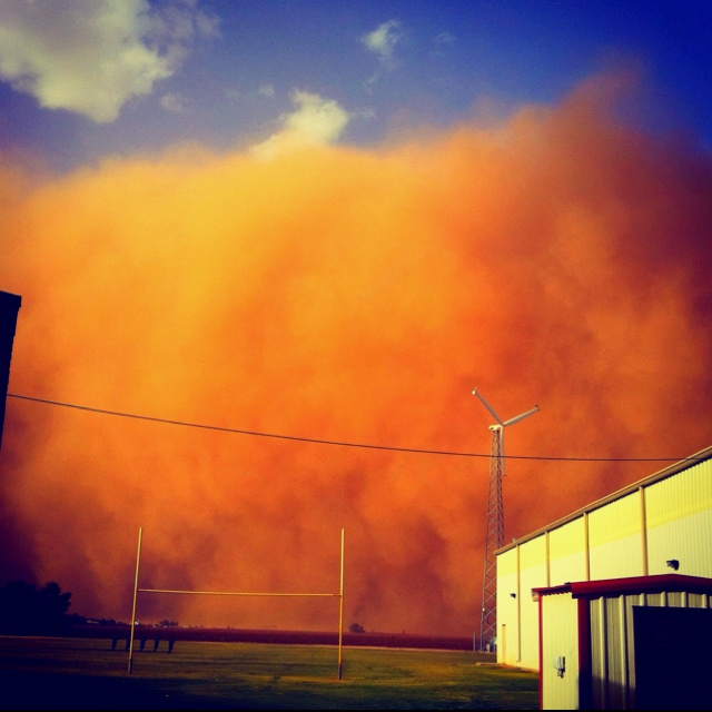some people get snow storms. west Texas gets dirt storms.