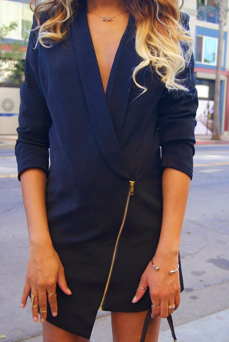 How to Chic: MOST WANTED! THE BLAZER DRESS