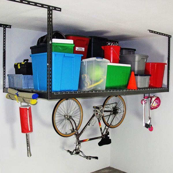MonsterRax 4' x 8' Overhead Garage Storage Rack