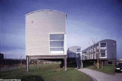 Het pavilioen, het enige museum dat Almere had/heeft