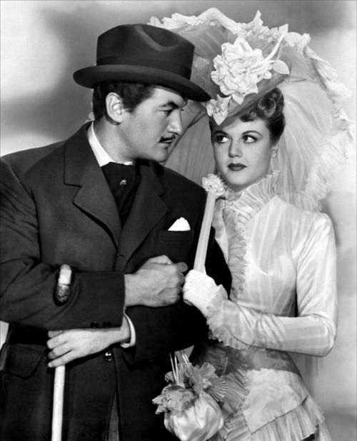 Angela Lansbury (with George Sanders) in The Private Affairs of Bel Ami, 1947