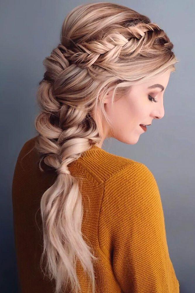 39 Best Pinterest Wedding Hairstyles Ideas Wedding Forward Cool Braid Hairstyles Hair Styles Long Hair Styles