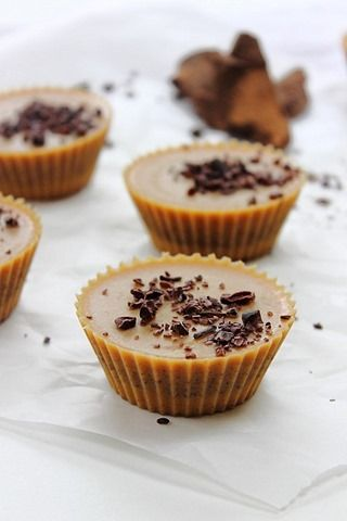inside out almond butter cups