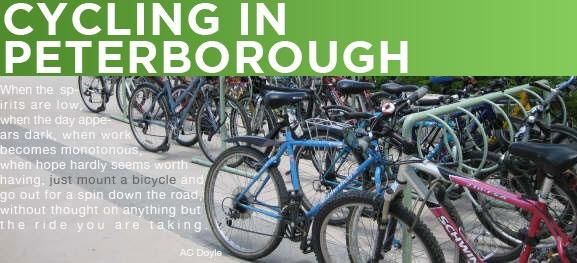 Peterborough Moves -- cycling guide -- Peterborough, Ontario