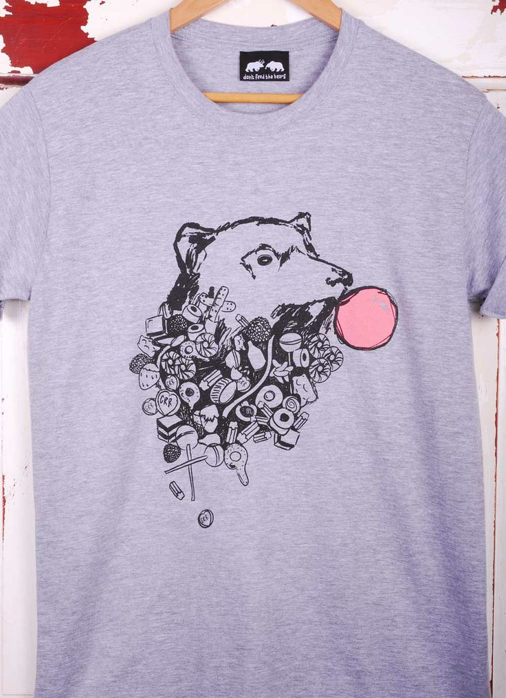 Senor sweetie T-shirts. This bear loves a pick a mix!