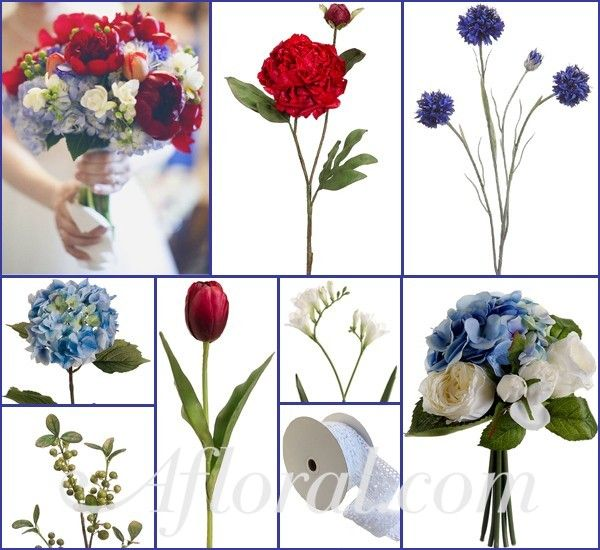 1000 Ideas About Blue Red Wedding On Pinterest