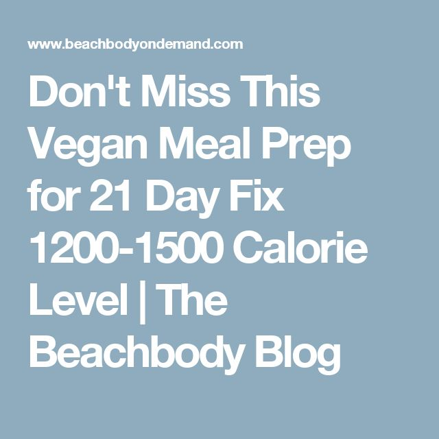 21 day fix vegan pdf