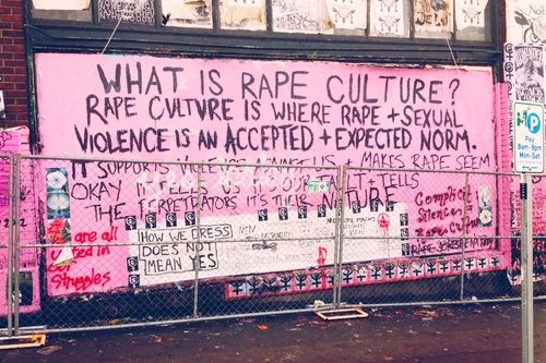 We Do Not Live in a Rape Culture in the U.S.!