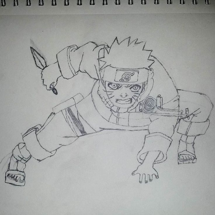 Tried to draw naruto uzumaki today took almost 3 hours to get something that looks like a bad shadow clone still learning to draw and pushing myself to