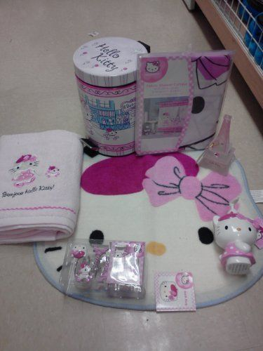 14 best Hello Kitty BathroomHome Decor images on Pinterest