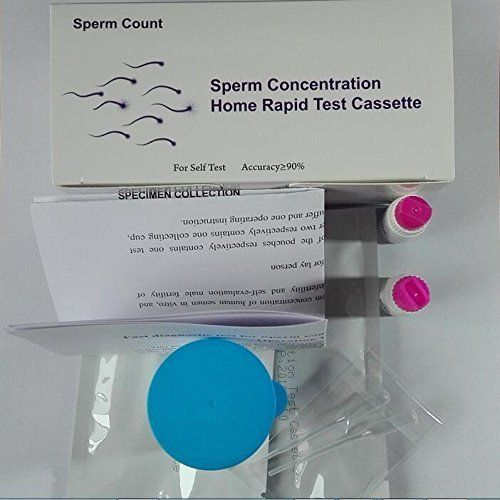 Male Fertility test kits are a unique home test that will indicate if a man's sperm concentration is greater or less than the devices cut off point, 20 million sperm per mL of sperm. A positive result is going to be good news although it is not proof of fertility. A negative result suggests...