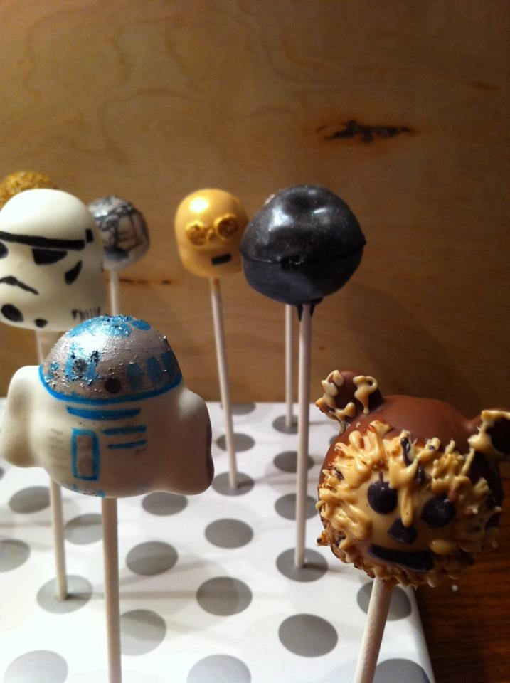 Star Wars Cake Pop Images : 1000+ images about Birthday Ideas on Pinterest Bottle ...