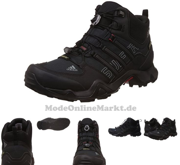 04055014205497 | #adidas #Terrex #Swift #R #Mid #GTX, #Herren #Trekking-  #038; #Wanderstiefel, #Schwarz #(Core #Black/Vista #Grey #S15/Power #Red), #41 #1/3 #EU #(7.5 #Herren #UK)