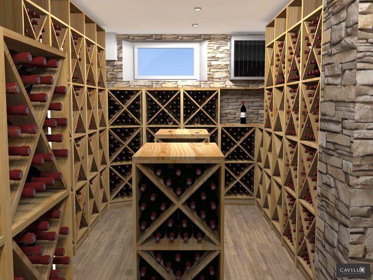 Cave à vin professionnelle - THE WINE CELLAR SPACE - cavilux