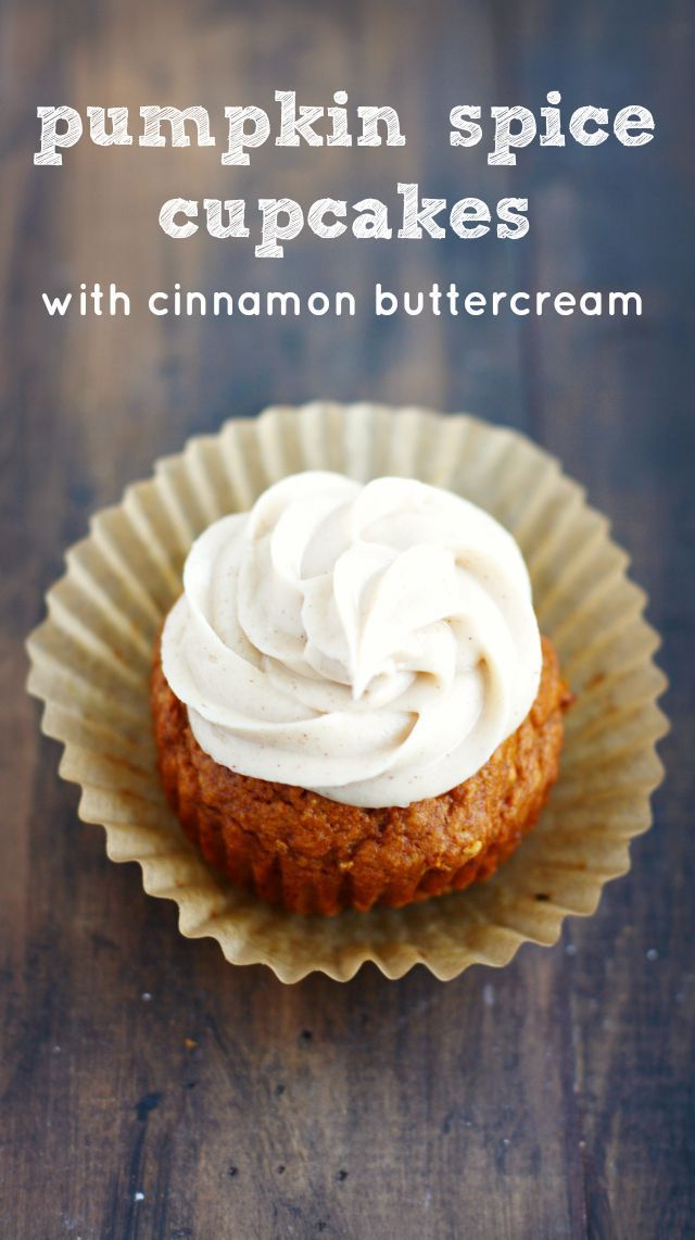 cupcakes with gingerbread frosting pumpkin spice cupcakes cupcakes ...