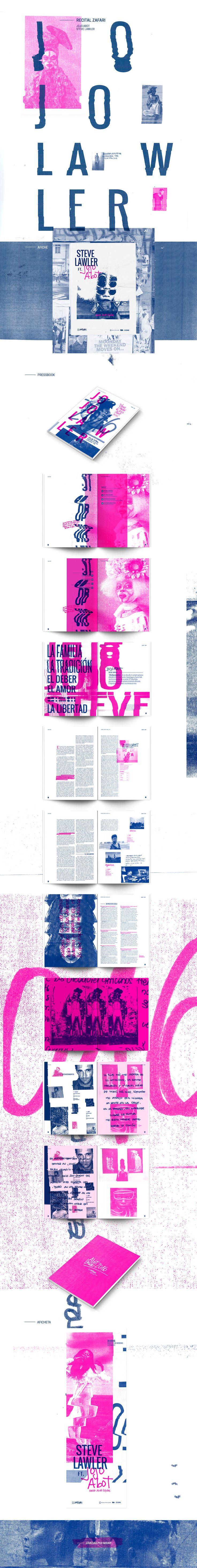 Jojo Abot ft. Steve Lawler - Pressbook on Behance