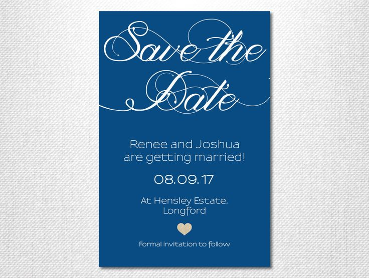 Handwritten Font ~ Navy Save the Date ~ Gold Glitter ~ White and Gold ~ Navy and White ~ Modern Save the Date ~ Simple Wedding Invitation