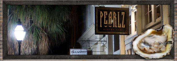 Pearlz Oyster Bar Best Seafood Charleston, SC   Oyster and Raw Bar East Bay Street (easy Friday dinner)