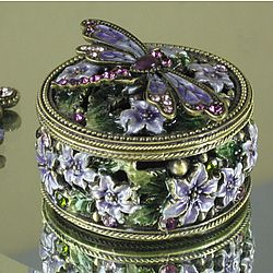 193 best Vintage Jewelry Trinket Ring Boxes and More images on