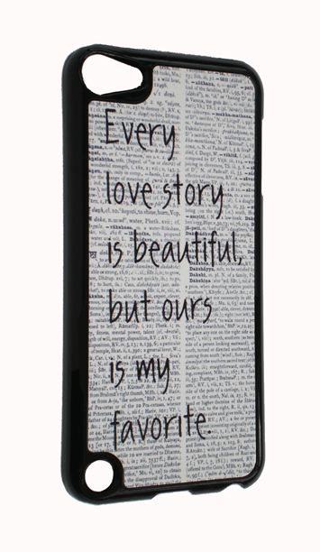 love story iphone case