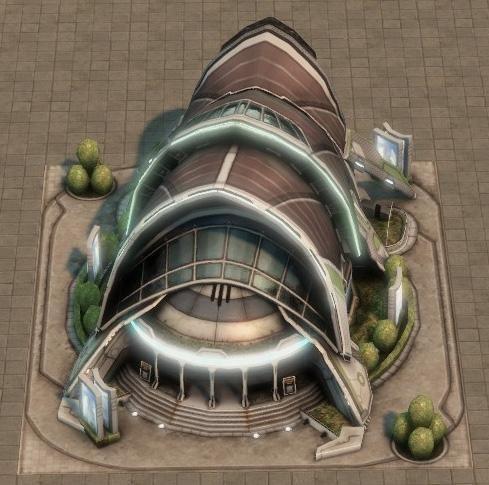 Anno 2070 öffi.Gebäude
