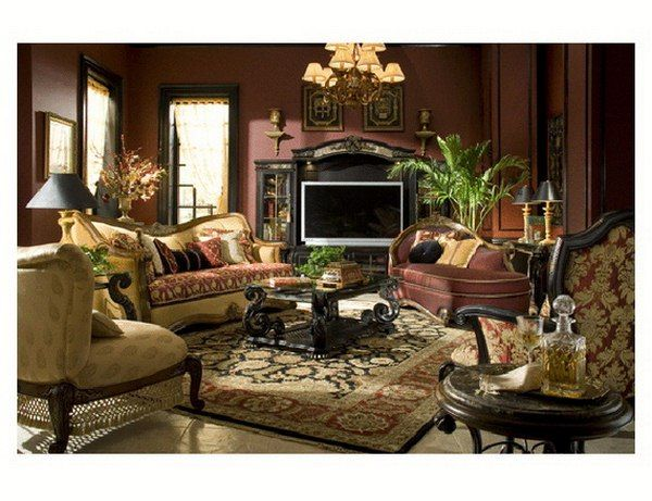 Old Italian Style Living Rooms