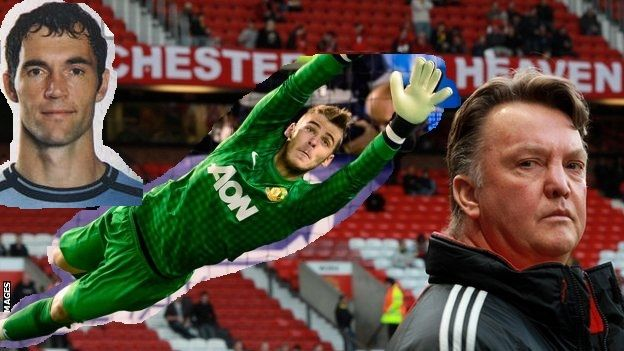 Silence may be golden with a hard 'g' but can the same be said for the surnames of Louis van Gaal and David de Gea?  Perhaps a cameo appearance by a former Manchester United favourite will help to ...