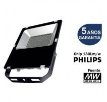 PROYECTOR LED SMD DE 200W 6000K LED PHILIPS Y FUENTE MEANWELL