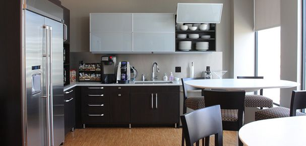Modern Cabinetry Contemporary Office Kitchen Great Work
