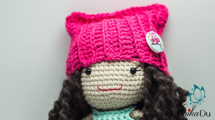 crochet doll pattern, amigurumi pattern