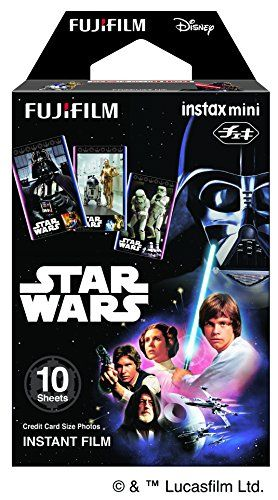 I'm not a Star Wars fanatic but daaaamn!!! Fujifilm Instax Mini Instant Film 10 Sheets, STAR WARS Limited ver Fujifilm http://www.amazon.com/dp/B017VXSXXE/ref=cm_sw_r_pi_dp_LM4zwb1528W6M