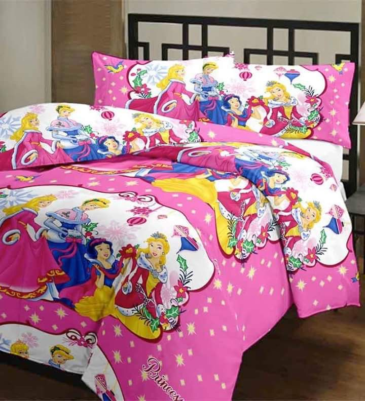 Princess cartoon bedsheet
