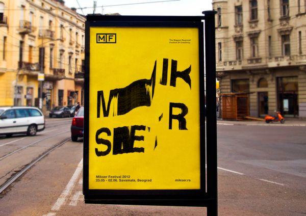 Mikser Festival 2012 by Lorem Ipsum Studio , via Behance