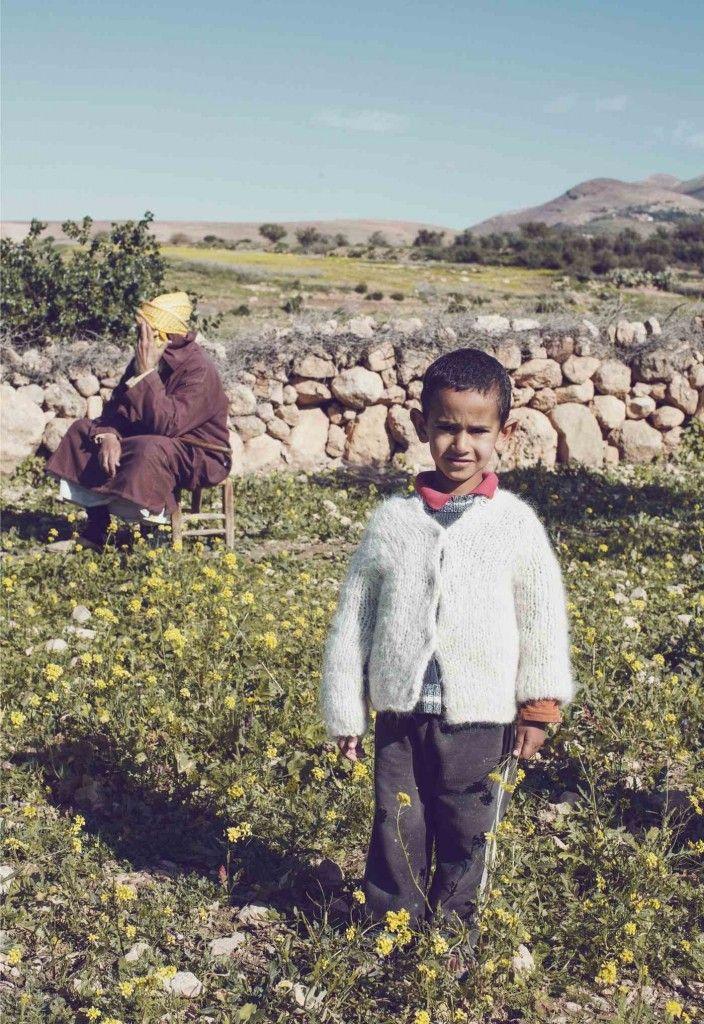 Gudrun and Gudrun kids collection soft Faroe Island wool sweaters for fall / winter 2013 shot in Marrakech