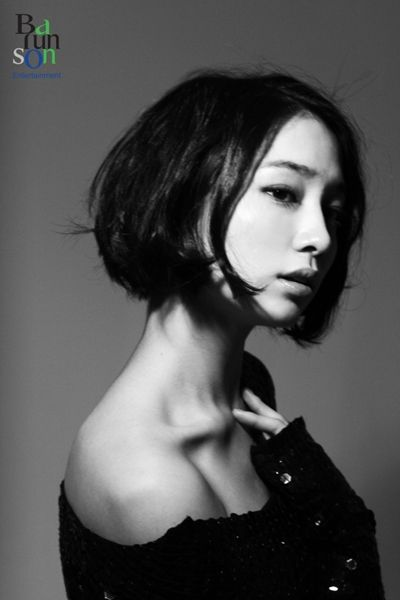 : Lee Min Jung, Shorts Hair, Bobs Hairstyles, Korean Celebrity, Shorts Bobs, Hair Style, Lee Minjung, Beautiful People, Beautiful Asian