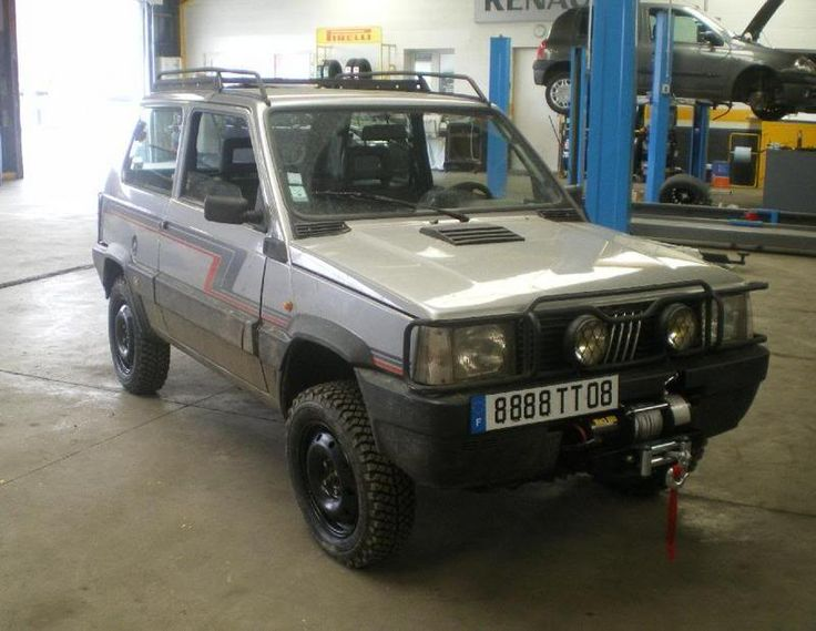 844 best images about fiat panda on pinterest cars for Panda 4x4 sisley off road