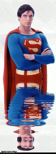 CHRISTOPHER REEVE as SUPERMAN - See this Animated Gif on Photobucket. Click to play