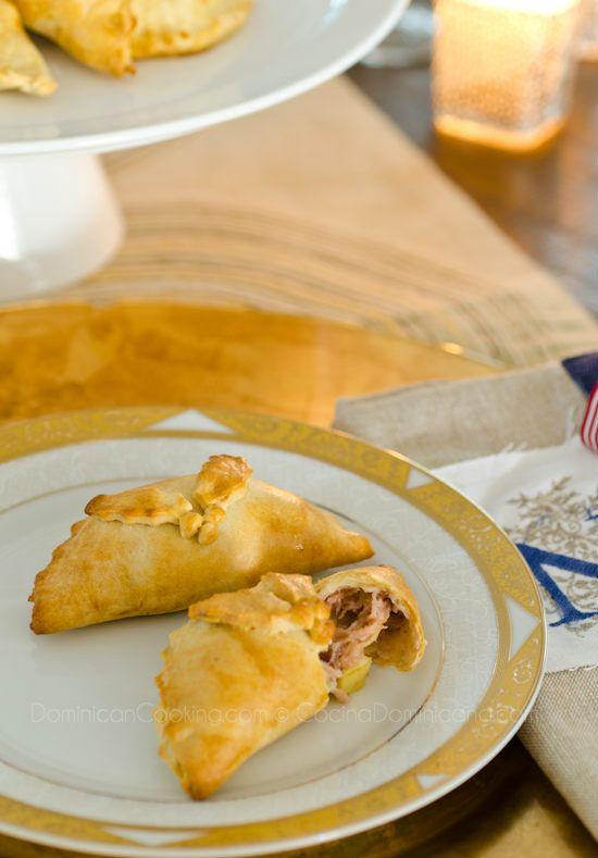 Empanadas de cerdo y manzana (pork and apple pasties)