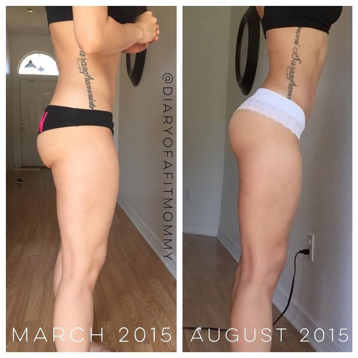 Before and after booty & thigh workout program... lots of ...