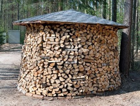 Firewood Storage: 12 Most Creative Firewood Storage Ideas - ODDEE: