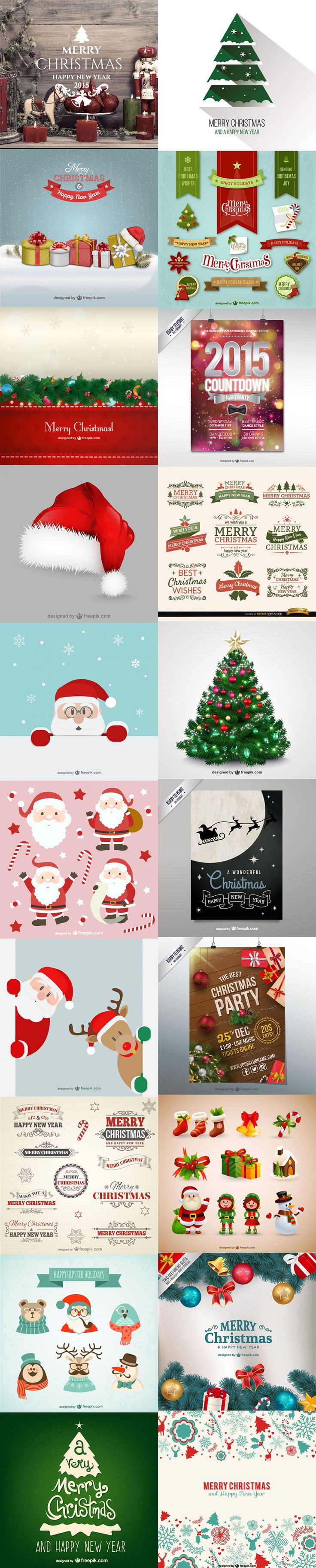 Free and Best Christmas Vector vector resources  Christmas  from the storeroom @ POTW