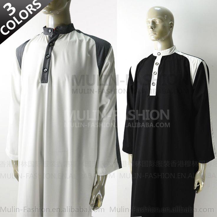 2013 new style Islamic men thobe muslim clothing men Arabia thobe $22.30~$31.30